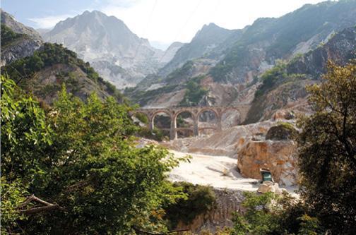 Carrara Marmor aus der Toskana