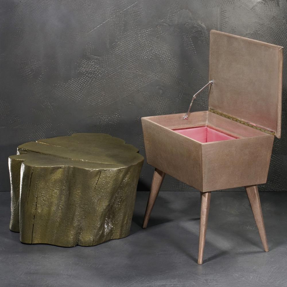 FRESCOLORI Metallgestein für Wand, Boden und Objekte