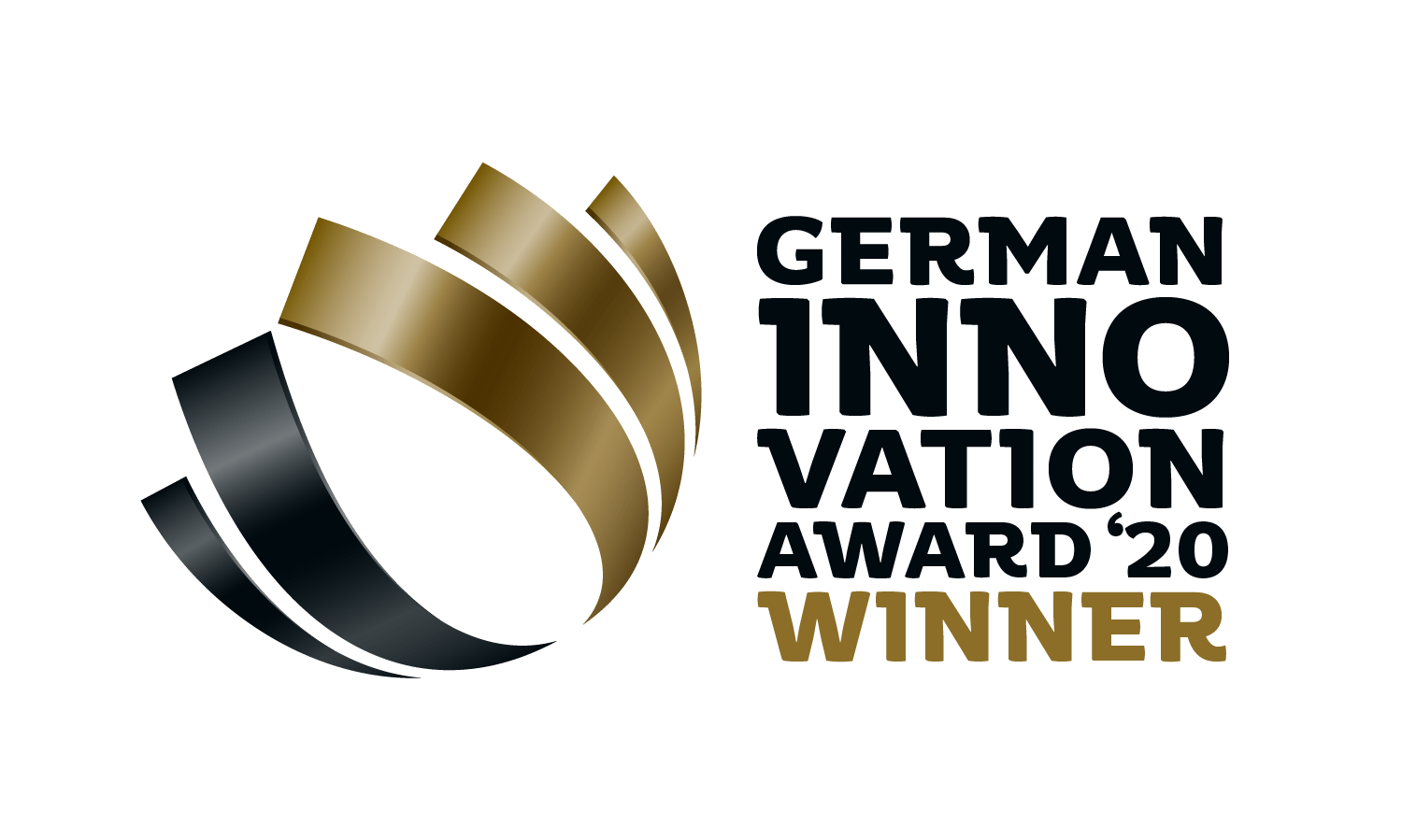 Gewinnerlogo des German Innovation Award 2020