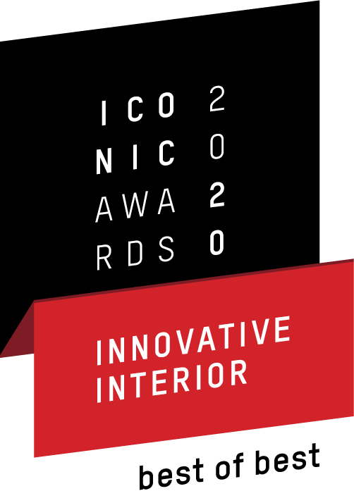 ICONIC AWARDS 2020 Innovative Interieur – best of best