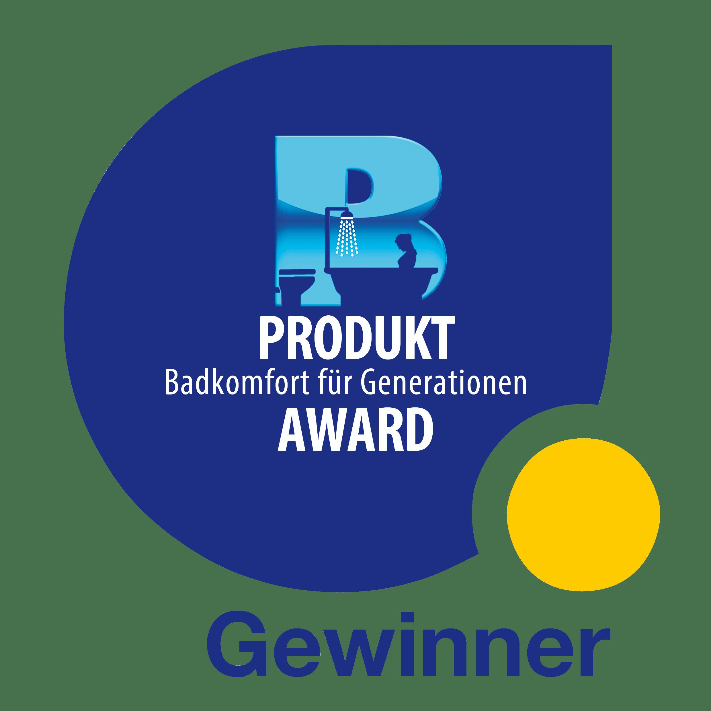 """Produkt-Award """"Badkomfort für Generationen"""""""
